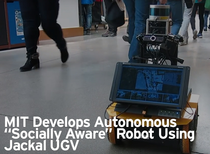 "MIT Develops Autonomous ""Socially Aware"" Robot Using Jackal"