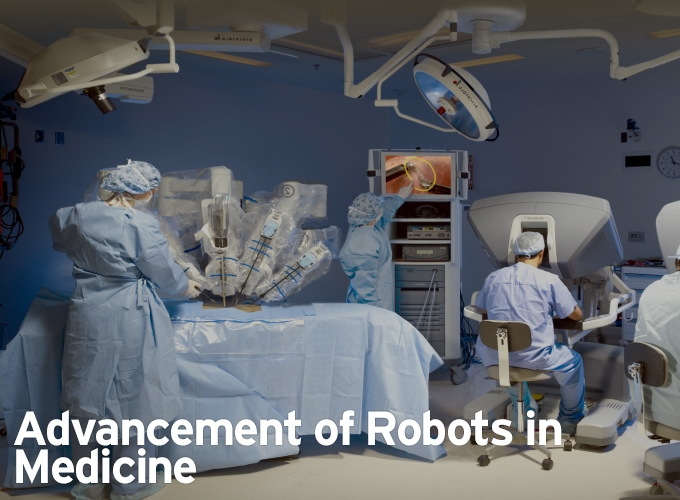 Advancement of Robots in Medicine