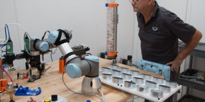 Universal Robots Solves Production Challenges in Creating Revolutions' Assembly Line