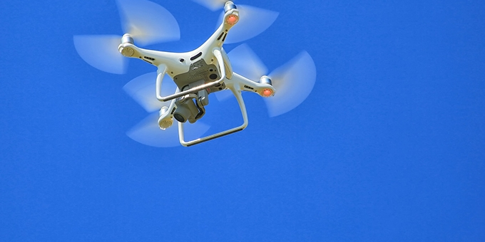Supply Chain Drones and Fog Computing