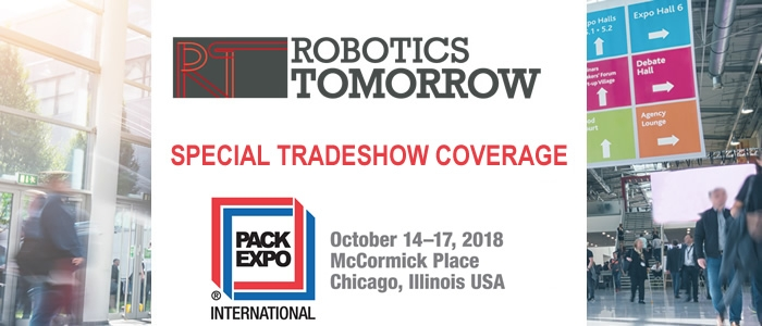 RoboticsTomorrow - Special Tradeshow Coverage<br>PACK EXPO International