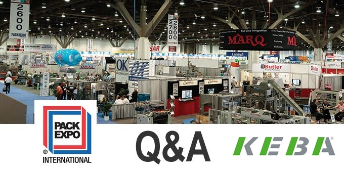 Talking PACK EXPO with KEBA Corp.
