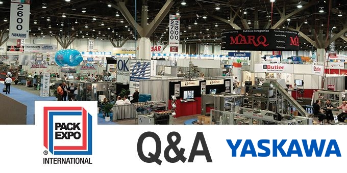 Talking PACK EXPO with YASKAWA Motoman