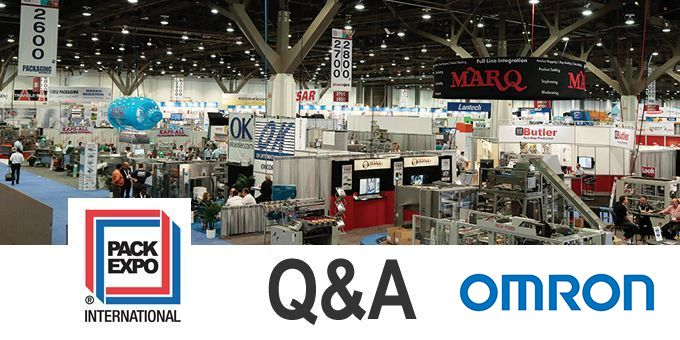 Talking PACK EXPO with OMRON