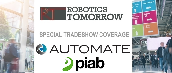 Talking Automate 2019 with PIAB