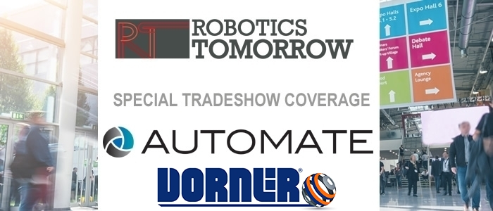 Talking Automate 2019 with Dorner Conveyors