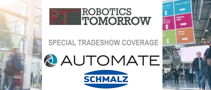 Talking ProMat 2019 with Schmalz
