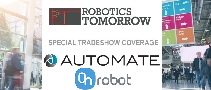 Talking Automate 2019 with OnRobot