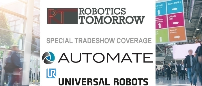 Talking Automate 2019 with Universal Robots