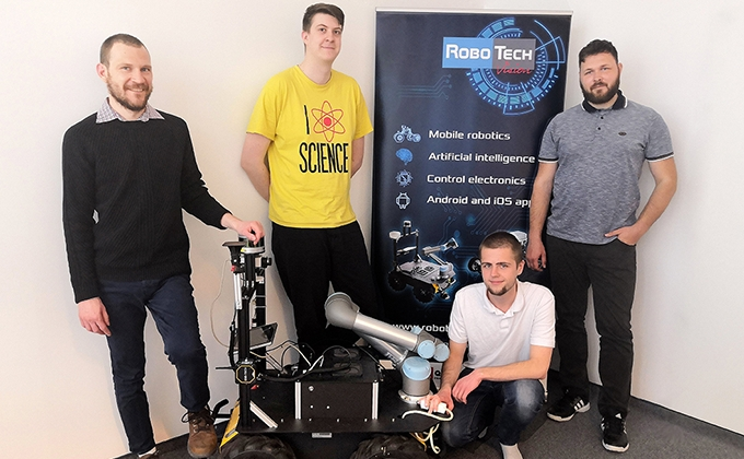 Developing a Universal Algorithm for Mobile Robots With Husky UGV