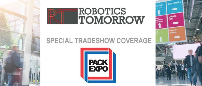 RoboticsTomorrow - Special Tradeshow Coverage<br>PACK EXPO Las Vegas