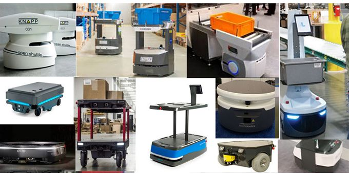 Autonomous Mobile Robots in Warehouses: IDTechEx Asks What Justifies the Recent High Valuations