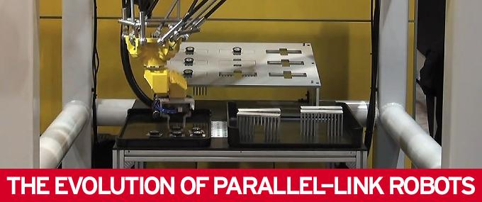 The Evolution of Parallel-Link Robots