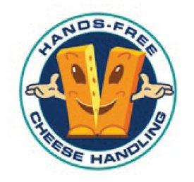 Hands-free Cheese Handling