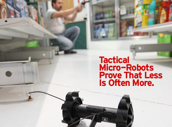 Tactical Micro-Robots Prove That Less Is Often More