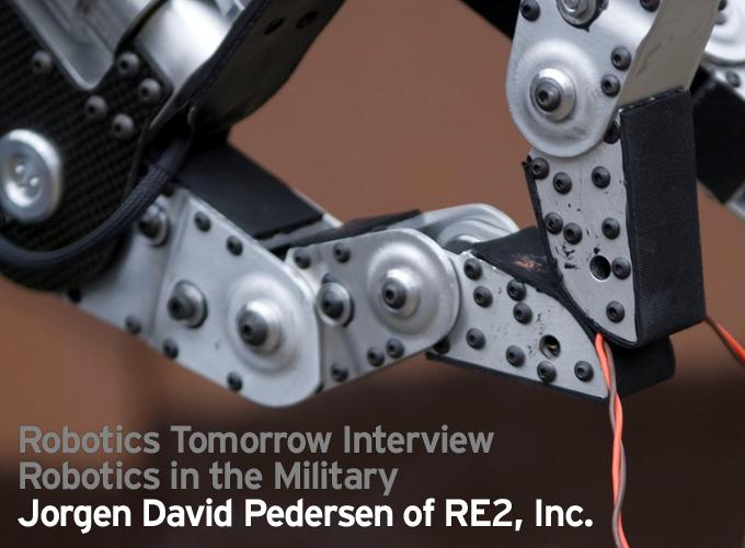 Interview – Robotics in the Military