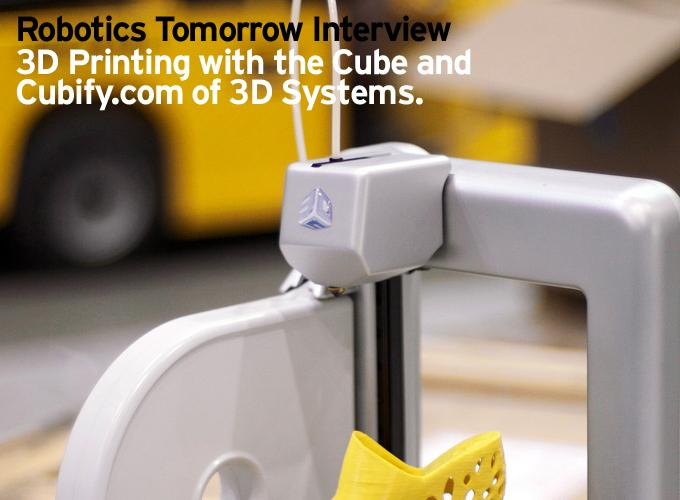 Interview - 3D Printing with the Cube and Cubify.com