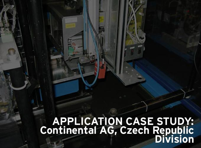 Application Case Study: Continental AG, Czech Republic Division