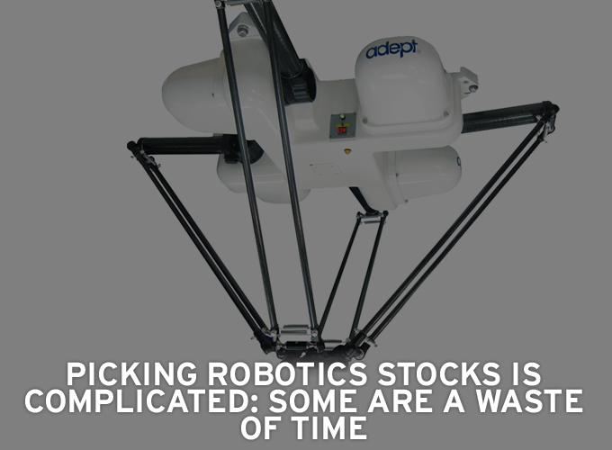 Picking Robotics Stocks Is Complicated: Some Are A Waste Of Time