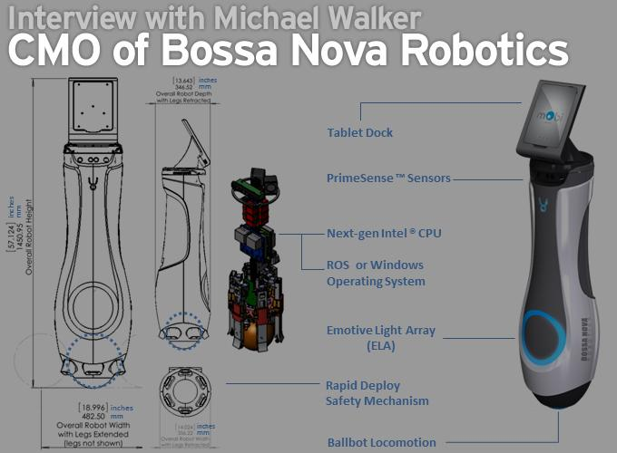 Interview with Michael Walker, CMO of Bossa Nova Robotics