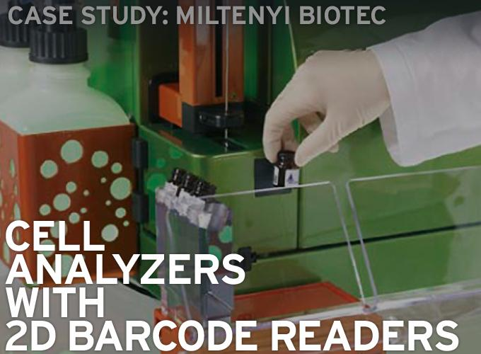 Case Study: Miltenyi Biotec, Cell Analyzers with 2D Barcode Readers