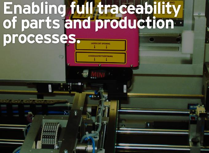 Enabling Full Traceability of Parts and Production Processes
