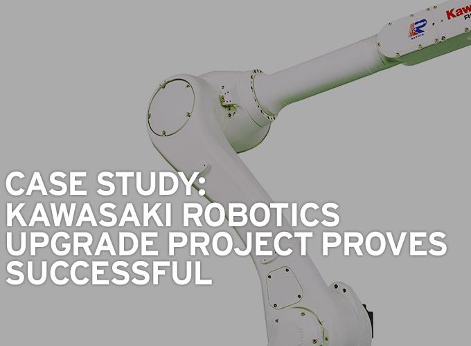 Case Study: Kawasaki Robotics Upgrade Project Proves Successful