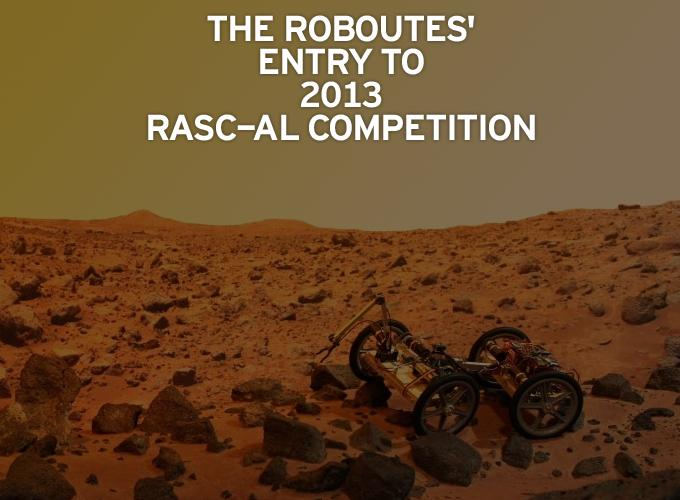 The RoboUtes' Entry to 2013 RASC-AL Competition