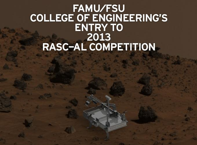 FAMU/FSU College of Engineering's Entry to 2013 RASC-AL Competition