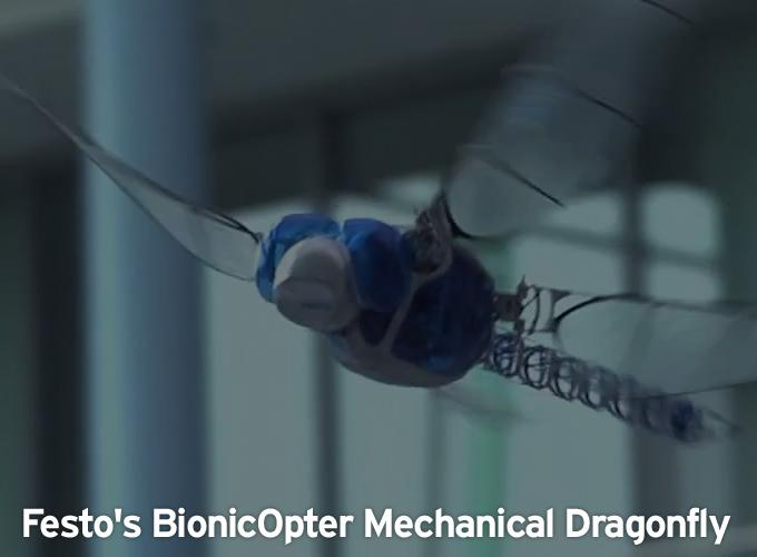 Festo's BionicOpter Mechanical Dragonfly