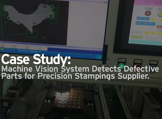 Case Study: Machine Vision System Detects Defective Parts for Precision Stampings Supplier