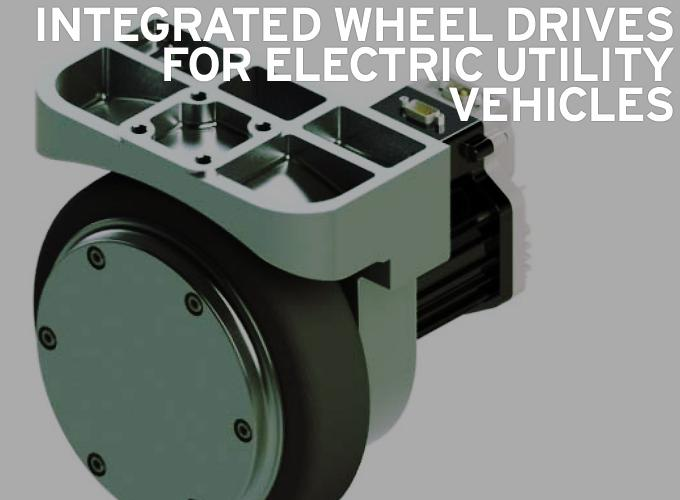 Integrated Wheel Drives for Electric Utility Vehicles