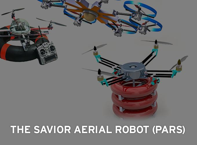The Savior Aerial Robot (Pars)
