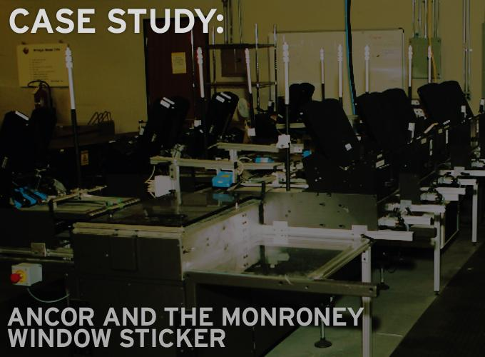Case Study: Ancor And The Monroney Window Sticker