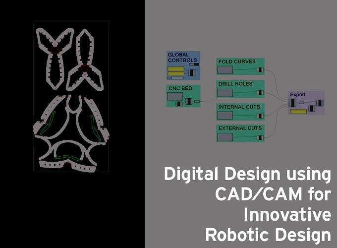 Digital Design using CAD/CAM for Innovative Robotic Design