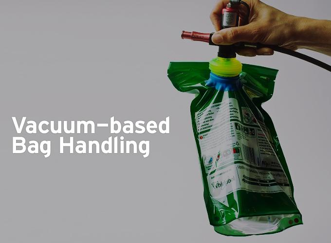 Vacuum-based Bag Handling