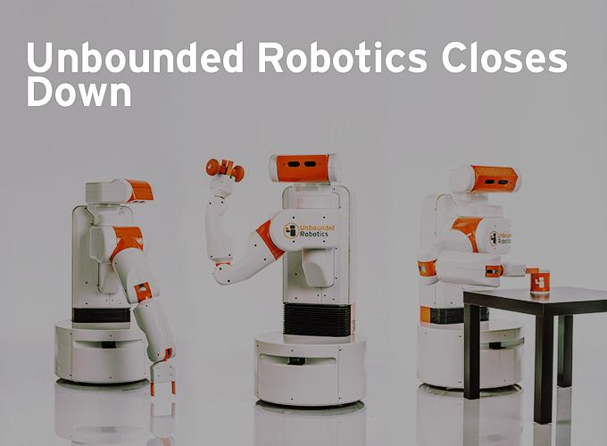 Unbounded Robotics Closes Down