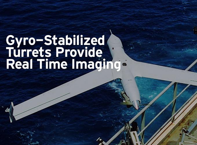 Gyro-Stabilized Turrets Provide Real Time Imaging