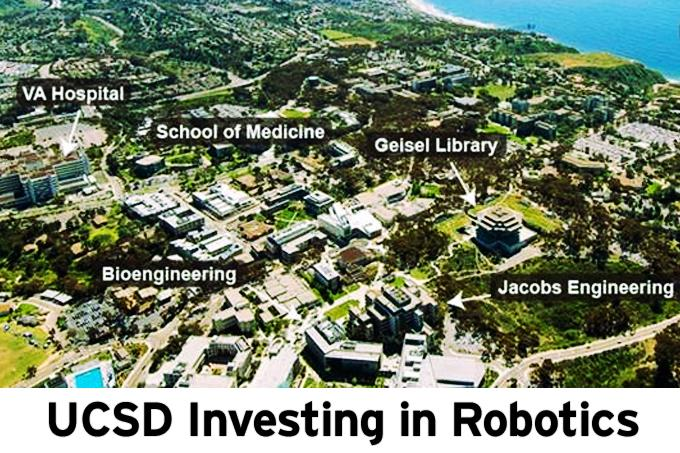 UCSD Investing in Robotics