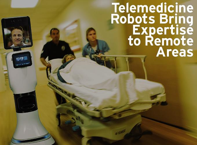 Telemedicine Robots Bring Expertise to Remote Areas