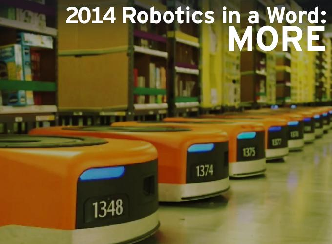2014 Robotics In A Word: