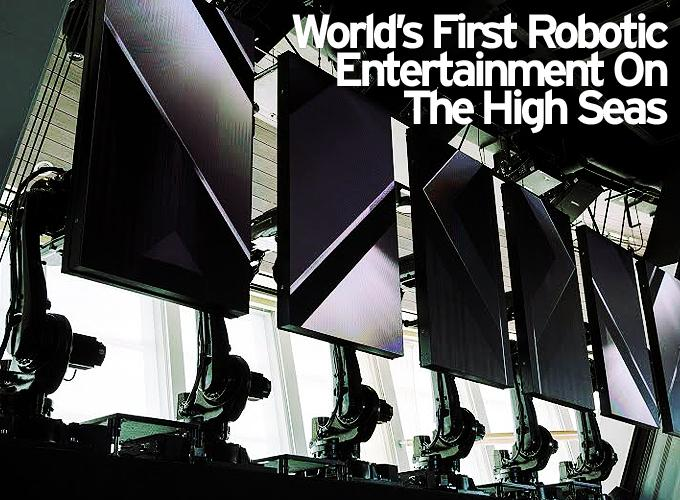 World's First Robotic Entertainment On The High Seas For Royal Caribbean International