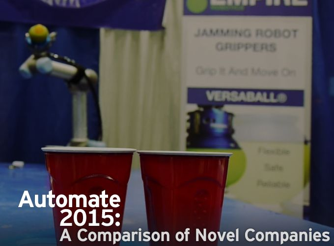 Automate 2015: A Comparison of Novel Companies
