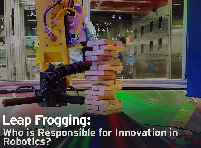 Automate 2015: Leap Frogging - Who is Responsible for Innovation in Robotics?
