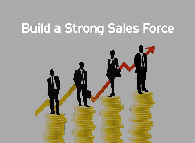Build a Strong Sales Force