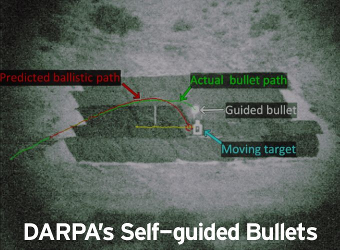 DARPA's Self-guided Bullets