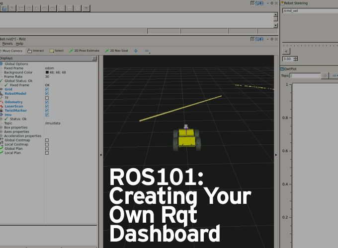 ROS101: Creating Your Own Rqt Dashboard