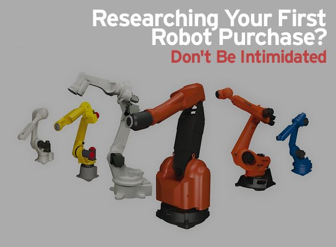 Researching your first robot purchase? Don't be intimidated.