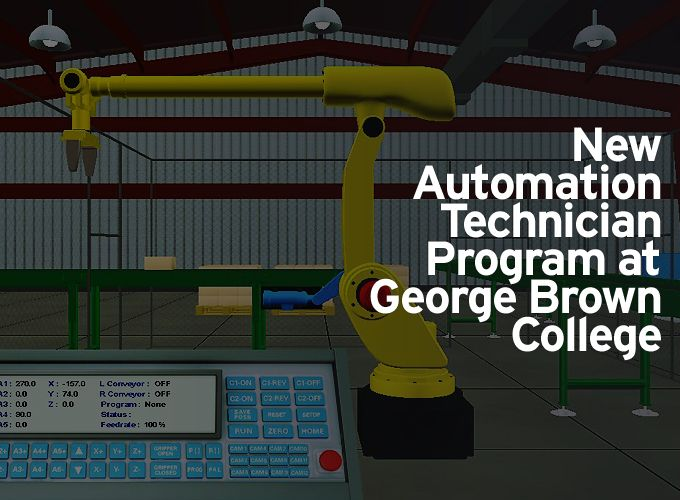 New Automation Technician Program at George Brown College