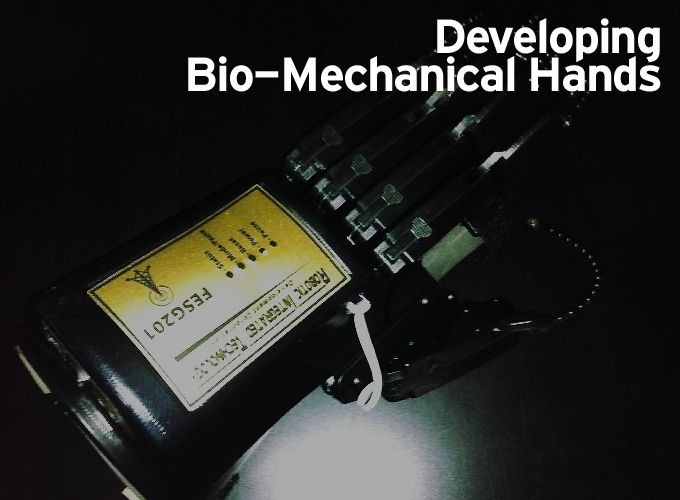 Developing Bio-Mechanical Hands